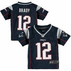 Nike New England Patriots Kids Jersey #12 Brady